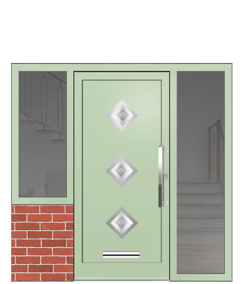 front door ironmongery
