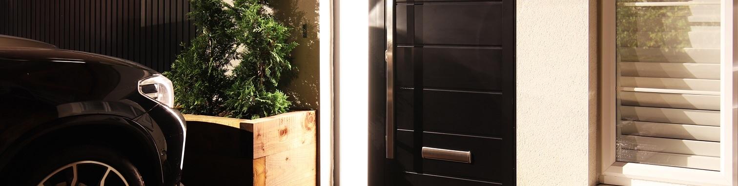 custom aluminium doors